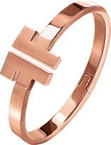 Folli Follie Logomania rose gold-plated bracelet