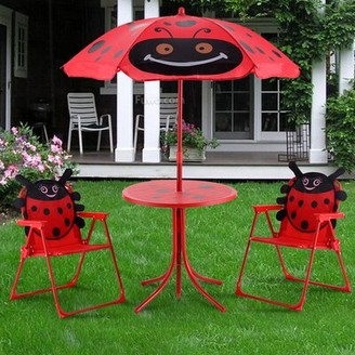 Zoomie Kids Eben Kids 3 Piece Picnic Table and Chair Set