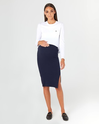LEGOE. London Ribbed Skirt