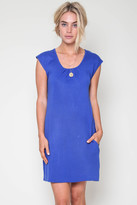 Goddis Tarah Knit Dress In Royal