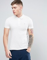 Jack and Jones Originals Polo Shirt with Embroidered Chest Logo