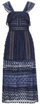Self-Portrait Bluebell Midi Dress