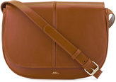A.P.C. saddle bag - women - Leather - One Size