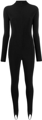 Atu Body Couture Front Zipped Jumpsuit