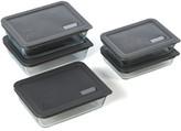 Pyrex No Leak Lids Ten Piece Storage Dish Set with Cover