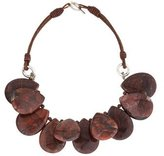 Brunello Cucinelli Red Jasper Bead Necklace