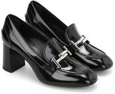 Tod's Double T Smooth Leather Pumps