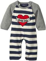 Toobydoo ToobyTattoo Heart Knit Jumpsuit Boy's Jumpsuit & Rompers One Piece