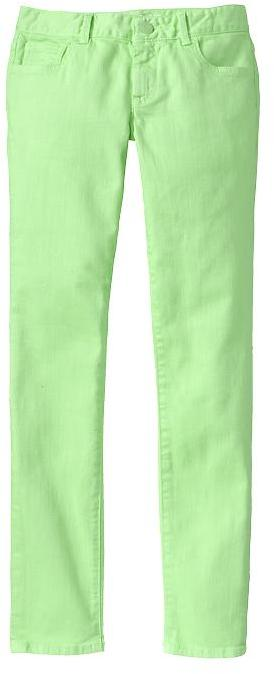 Gap 1969 Neon Super Skinny Jeans