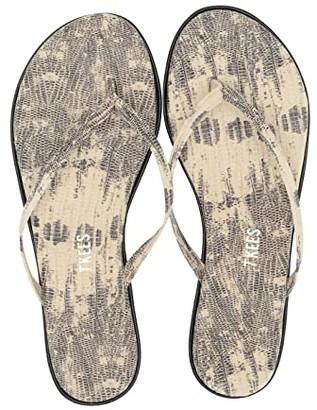 TKEES Studio Exotic (Milk Snake) Women's Sandals