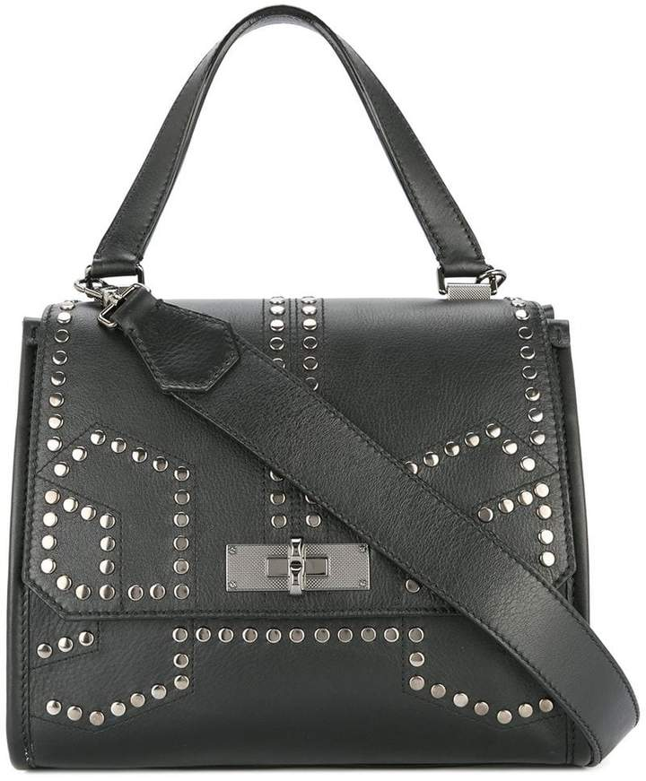 44aeda54b Black Studded Purse - ShopStyle