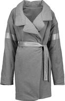 Norma Kamali Reversible cotton-blend coat