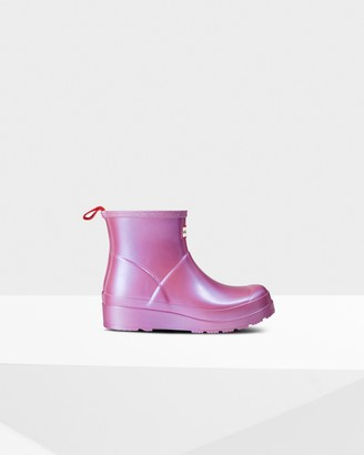 Hunter Women's Original Play Short Nebula Wellington Boots