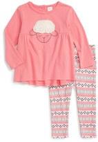 Nordstrom Infant Girl's Applique Tunic & Leggings Set