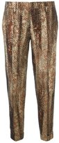 DSQUARED2 jacquard chevron trousers