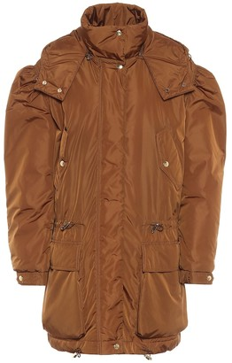 Max Mara Giacomo hooded taffeta coat