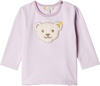 Steiff Baby Girls' T-Shirt Longsleeve Long Sleeve Top