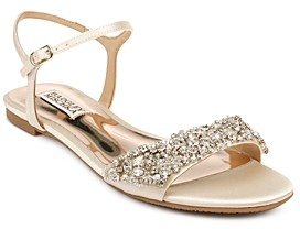 Badgley Mischka Women's Carmella Crystal-Embellished Sandals