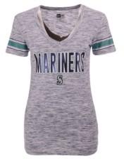 New Era Women's Seattle Mariners Space Dye T-Shirt