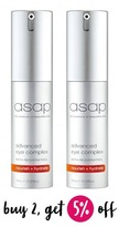 Asap Buy 2 Advanced Eye Complex 15ml and SAVE