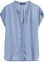 Banana Republic PETITE TENCEL™ Dolman-Sleeve Shirt