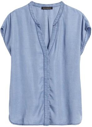 Banana Republic Petite TENCEL Dolman-Sleeve Shirt