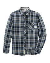 Fenchurch Bellton Flannel Shirt Long