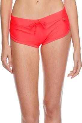 Body Glove Junior's Smoothies Sidekick Sporty Swim Short Bikini Bottom