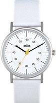 Braun Women's BN0011WHWHL Classic Analog Display Quartz White Watch