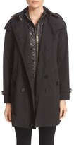 Burberry 'Churchdale' 3-in-1 Belted Trench Coat