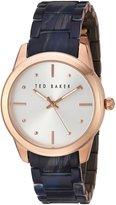 Ted Baker Women's 10025284 Classic Analog Display Japanese Quartz Blue Watch