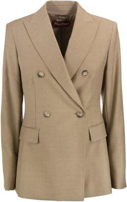 Max Mara Katia Wool Double-breasted Blazer