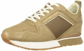 Tommy Hilfiger Women's Mix Material Wedge Sneaker Low-Top