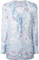 Dondup Bisa patterned top - women - Silk - 44