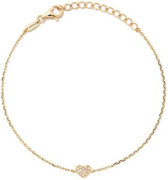 As 29 18kt yellow gold Miami Heart diamond bracelet