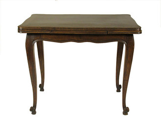 One Kings Lane Vintage French Oak Breakfast Table - The Barn at 17 Antiques