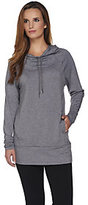 Cuddl Duds Comfortwear French Terry Hooded Tunic