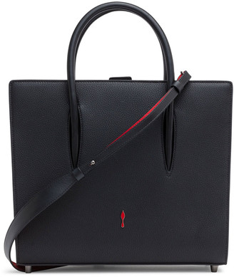 Christian Louboutin Paloma Black Leather Medium Tote