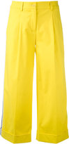 P.A.R.O.S.H. cropped wide leg trousers - women - Cotton/Spandex/Elastane - XS