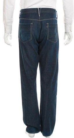3x1 Straight-Leg Five Pocket Jeans