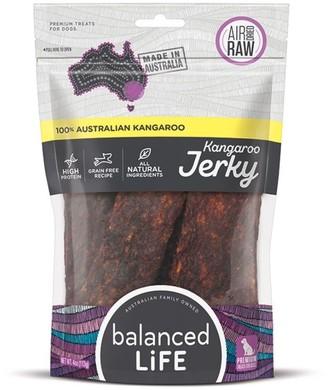 Balanced Life Dog Treat Kangaroo Jerky 113g