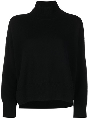 Barrie Roll Neck Cashmere Jumper