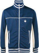 Palm Angels Weed stripe track jacket - men - Polyester - S