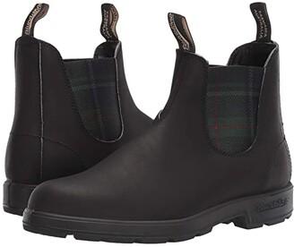 Blundstone BL1614 (Black/Tartan Green) Shoes