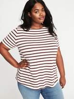 Old Navy Plus-Size Mariner-Stripe Thick-Knit Tee
