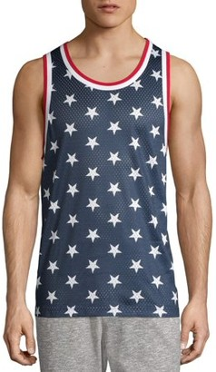 No Boundaries Men's and Big Men's Mesh Tank Top, Available Up to Size 3XL