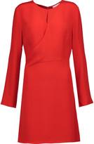 3.1 Phillip Lim Wrap-effect silk mini dress