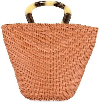 Loeffler Randall Agnes Woven Fan Tote Bag