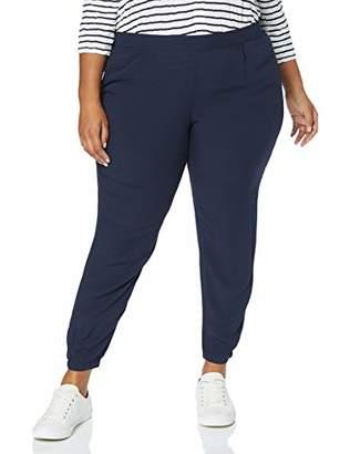 Tom Tailor NOS) Women's Printed Pyjama Pants, Real Navy Blue, Trouser, 10360, 26 (Size