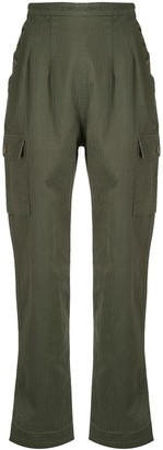 Bassike High Waisted Cargo Trousers